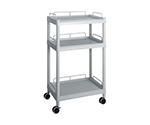 Mobile Easy Cart (Tall Type/Wide 32) Gray 3 Sages Wiith Guard Frame ME32G