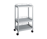 Mobile Easy Cart (Tall Type/Wide 32) Gray 3 Sages Wiith Guard Frame ME32H