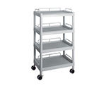 Mobile Easy Cart (Tall Type/Wide 32) Gray 4 Stages Wiith Guard Frame ME32J