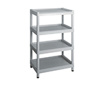 Mobile Easy Cart (Tall Type/Wide 32) Gray 4 Stages ME32K