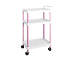 Mobile Easy Cart (Tall Type/Wide 32) Pink 3 Stages ME32A