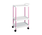 Mobile Easy Cart (Tall Type/Wide 32) Pink 3 Stages ME32C
