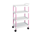 Mobile Easy Cart (Tall Type/Wide 32) Pink 4 Stages ME32E