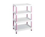 Mobile Easy Cart (Tall Type/Wide 32) Pink 4 Stages ME32K