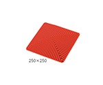 Laboratory Silicone Mat 250 x 250mm Red and others