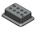 Block Bath Shaker Block for 5mL 18900240