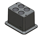 [Discontinued]Block Bath Shaker Block for 50mL 18900242