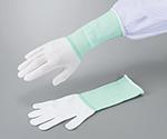 アズピュアロングインナー手袋 オーバーロックタイプ