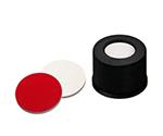Auto Sampler Vial LLG Labware Black Cap 100 Pieces 13150815