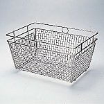 Stainless Cleaning Basket SS Large and others