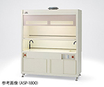 Fume Hood (Work Plane Flat Type) Heat resistant PVC standard and others
