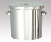 Compact Storage Taper Type Stainless Steel Tank with Lid 10L and others