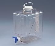 ナルゲン透明活栓付角型瓶2322 9L