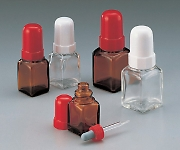 Pipette Bottle (Square Glass) 10mL White and others