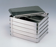 Stacking Stainless Steel Tray 5.0L (5 Stages with Lid) 410 x 310 x 230mm and others