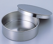 Stainless Sieve 150 x 45 Lid, Receiver