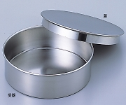 Stainless Sieve 200 x 45 Lid, Receiver