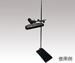 LEDフラットライト用 平台スタンド小 支柱ステンレス 小型