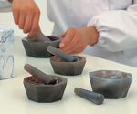 メノー乳鉢(浅型) 乳棒付等