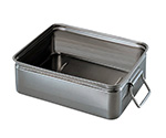 Stainless Steel Tray ( Small/With Handle) 285 x 370 x 110mm and others