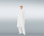 Dust-Free Garment AS207C For Unisex, White 3L and others