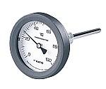 バイメタル式温度計