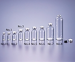 Vial Bottle No. 01 2mL Transparent without Cap 100 Pieces and others