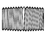 Pipe Thread Fitting 1/4In. NPTM Close Nipple 1SET XX6700115