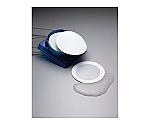 周縁疎水性フィルター 0.45μm 47mm 白色 無地 周縁3mm オートクレーブ滅菌済包装 HAEP047A0 100×1ST