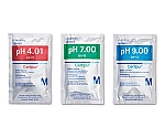 バッファー溶液 (30mL アルミ分包タイプ) セット NIST及びPTBのSRMにトレーサブル, 10 袋×pH 4.01 (フタル酸), 10 袋×pH 7.00 (リン酸), 10 袋×pH 9.00 (ホウ酸) pH 4.01/pH 7.00/pH 9.00 (25°C) Certipur(R) 199005 1ST