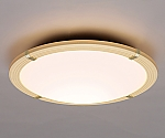 LEDシーリングライト 調色木枠 ブラウン