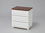 Woodtop Chest-MG-553 White/Walnut and others