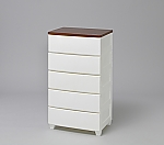 Woodtop Chest-MG-555 White/Walnut and others