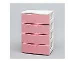 ワイドチェスト COD-554 ホワイト/ピンク