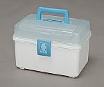 First Aid Kit For Injury Medicine QB-180 Clear Blue White 225713QB-180