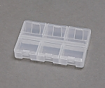 [Discontinued]Clear pill Case CPC-0918S Clear 520898CPC-0918S