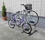 自転車スタンド BYS-2 ブラック 317820/BYS-2