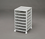Office Chest Shallow 7 shelves OCE-S700R Light gray 245500OCE-S700R