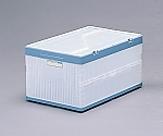 Folding Container with Lid 26L C/Blue and others