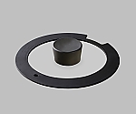 Diamond Coated Pan IH Glass Lid 16 cm H-IS-GL 16 Black  and others