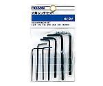 六角レンチセット 1/20-1/8in,1.5-3mm W-91