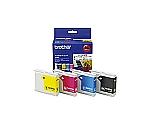 ブラザー純正インクカートリッジ LC10-4PKカラー(4色入) LC104PK