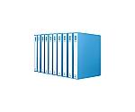 リングファイル(ボード表紙10冊パック) A4縦 内径27ミリ 2穴 青 VDフ-8430NBX10
