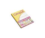 キャンパスノート(用途別)(5冊パック) パステルみずたま柄
