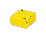 ポスト・イットポップアップ紙箱 74×69mm ノート300枚 イエロー POP-300Y