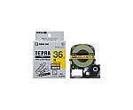 Tepra PRO Label Printer Tape Cartridge Black Characters On Red 36mm Width and others