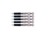 再生工場フェアライン3プラスクリップ5P インク色:黒赤青 軸色:クリア 15-8302-002