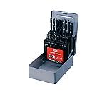 ストレートドリル 19本組セット φ1.0~10.0mm(0.5mmとび) D19S