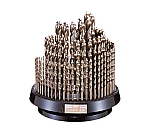 コバルト正宗ドリル 100本組セット φ1.0~10.0mm(0.1mmとび)、φ10.5~13.0mm(0.5mmとび)、φ10.9・11.9・12.9mm