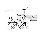 京セラ 内径加工用ホルダ 型番:A20RSDZCR1127AE